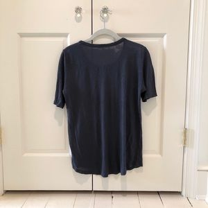 Vince Tops - Navy Vince Loose Fitting Tee